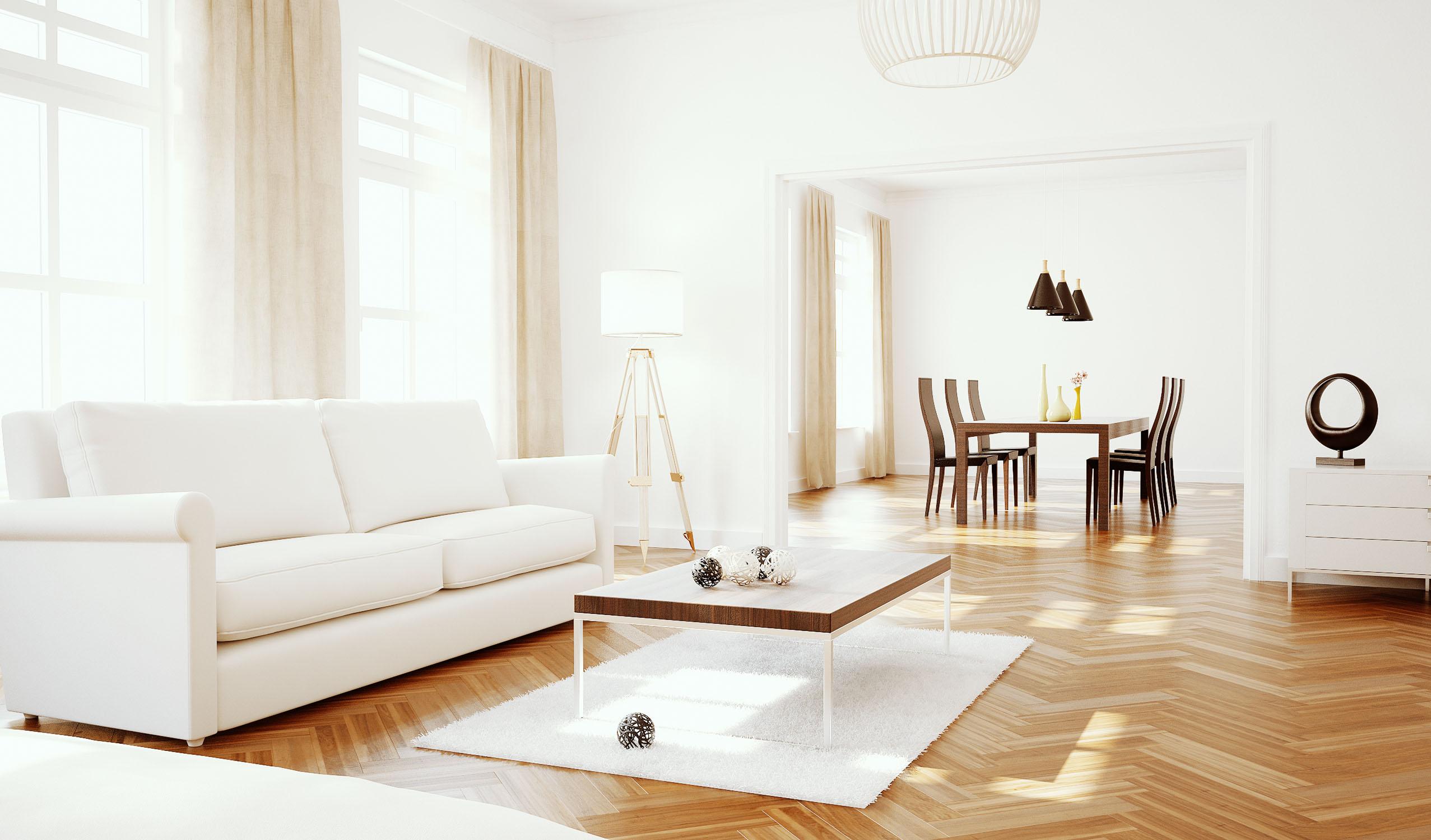 Full CGI Livingroom