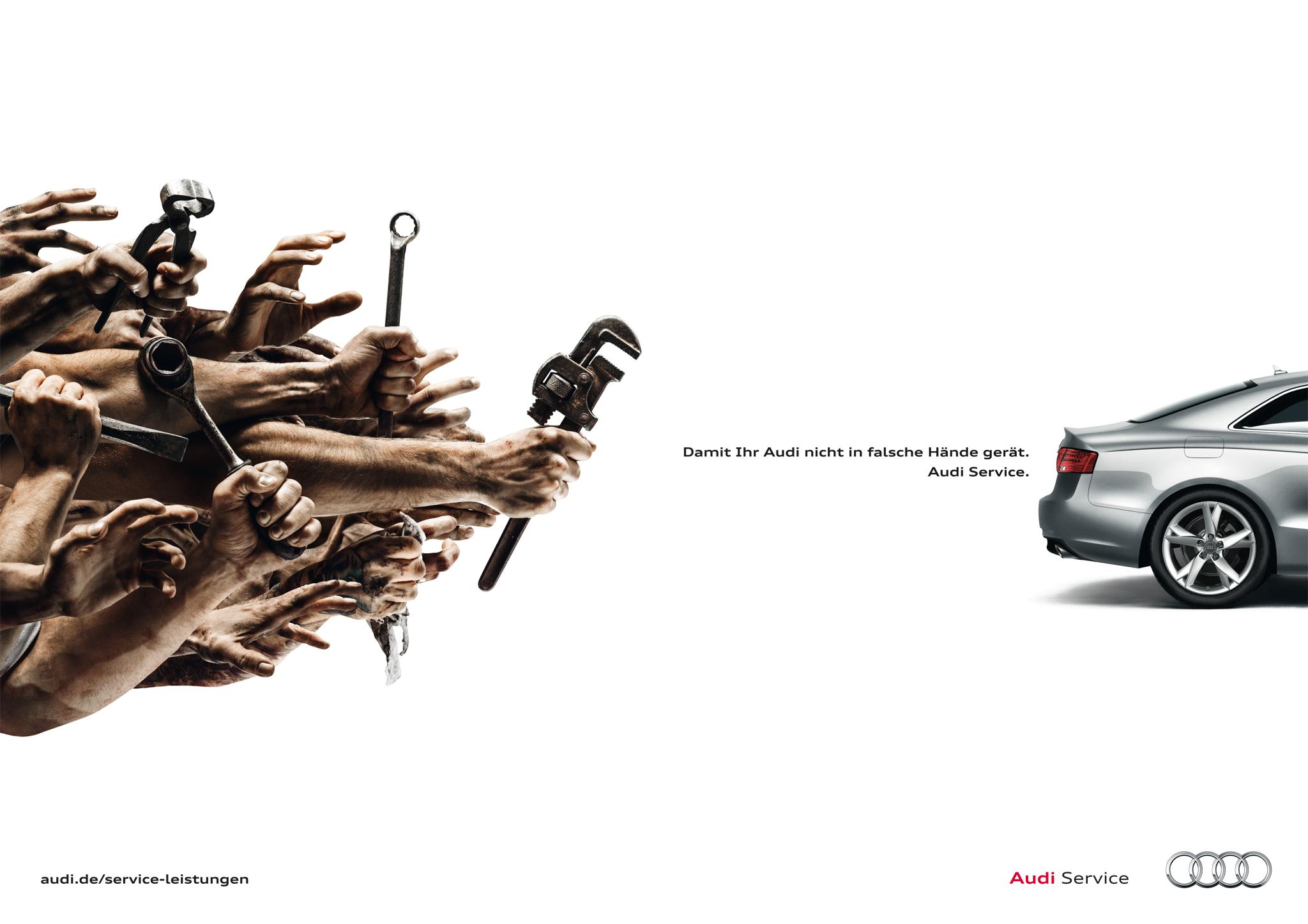 Audi Service | Photographer Attila Hartwig | Agency thjnk Berlin