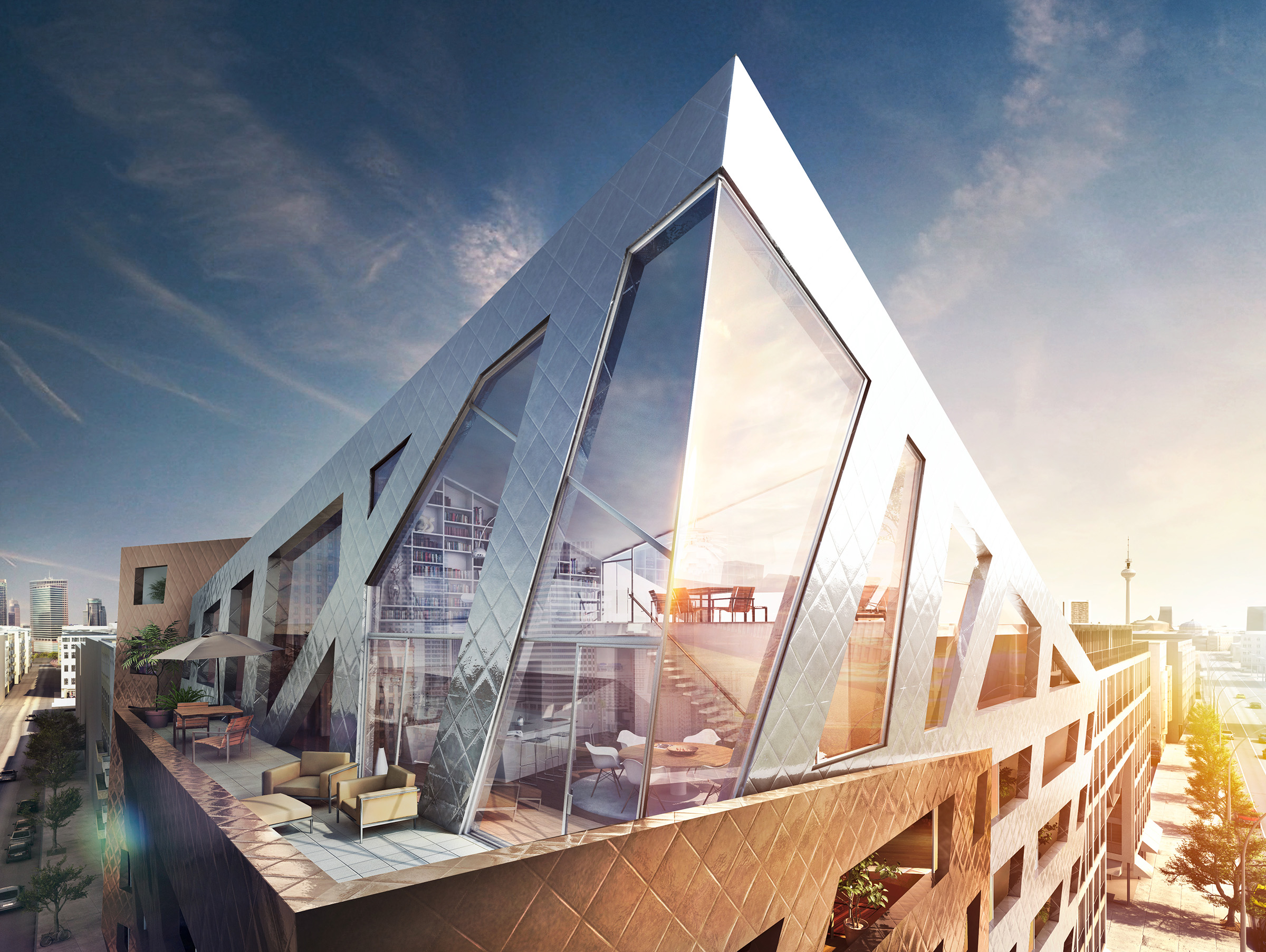 Daniel Libeskind | Full CGI | Agency unit III consulting