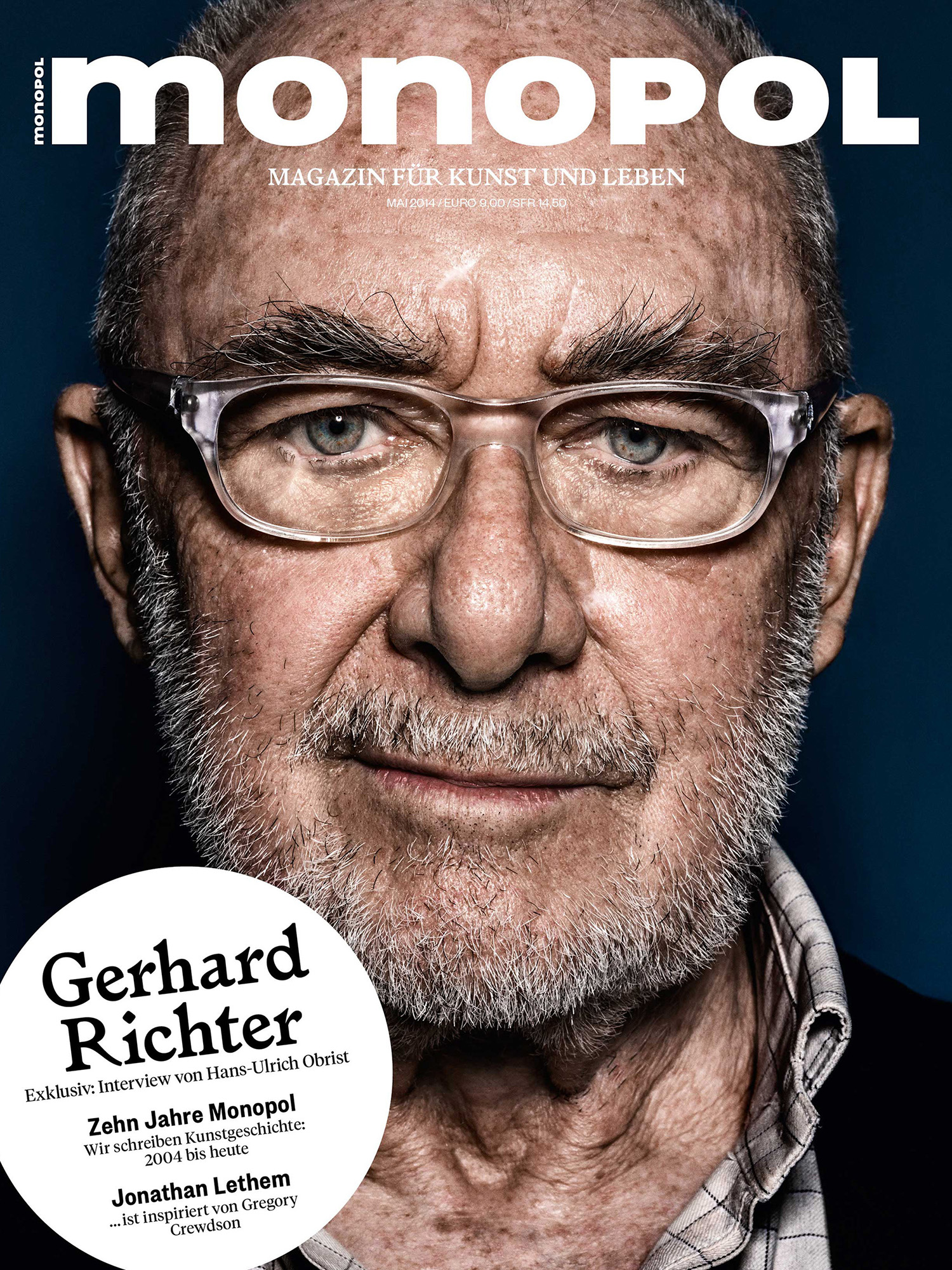 Gerhard Richter | monopol | Photographer Till Janz